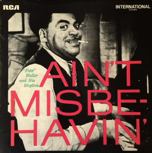 Fats Waller And His Rhythm ‎- Ain't Misbehavin' (LP) (VG/G)